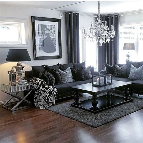 best 25 black living rooms ideas on black
