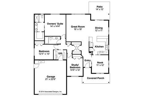 Craftsman House Plans-pineville-associated Designs