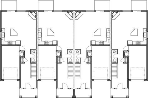 Fourplex House Plans, 2 Story Townhouse, 3 Bedroom Z-wave Door Locks Japanese Sliding Exterior Double Doors With Glass Room Divider Concealed Closer 3 Cabinet Garage Screen Modern Knocker