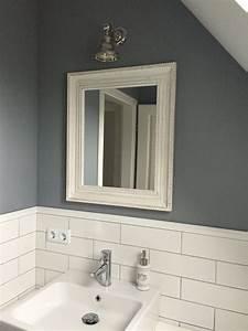 Badezimmer Weiß Grau : badezimmer bathroom weiss grau mit metro fliesen badezimmer pinterest badezimmer bad ~ Markanthonyermac.com Haus und Dekorationen