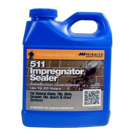 miracle sealants 511 impregnator sealer for tile