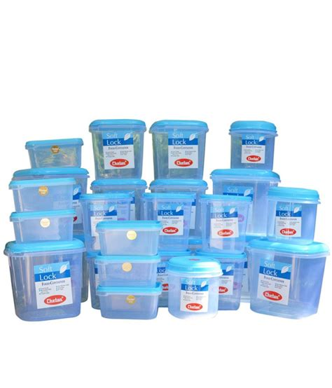 Chetan Plastic Kitchen Storage Containers Airtight 27 Pc