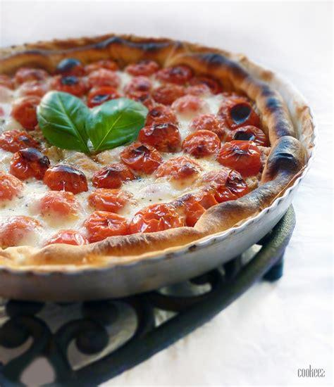 cookeez tarte au thon et 224 la tomate