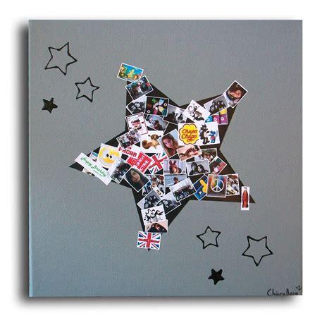 tableau album photos id 233 e cadeau chambre adolescent gar 231 on d 233 corations murales par chiaradeco