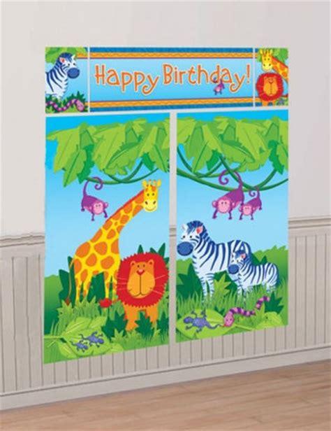 d 233 coration anniversaire animaux de la jungle mister