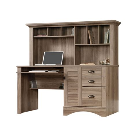 sauder harbor view computer desk with hutch reviews wayfair