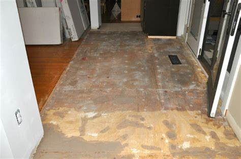 Floor Patching Compound Plywood by Finishing Up Floor Removal Particle Board Tile And