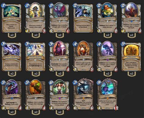 How To Build A Dragon Deck Hearthstone Howstoco
