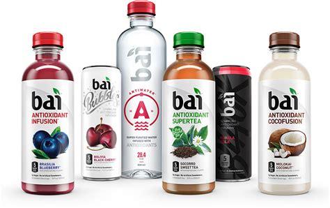 bai antioxidant infusion drinks