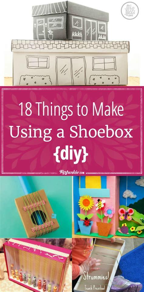 18 Things To Make Using A Shoebox {diy}  Tip Junkie