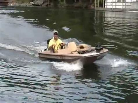 Bass Hunter Style Boats by Bomber Scout Bass Boat Youtube