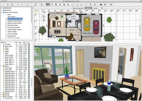 Sweet Home 3d : Top 10 Best Applications To Make House Plans, News And