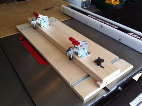 Table Saw Tapering Jig  By Nwbusa @ Lumberjockscom
