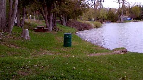 Public Boat R Kingsley Lake by Little Lake Public Boat Launch Colborne Youtube