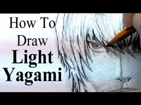 How To Draw Light Yagami (from Death Note) Youtube