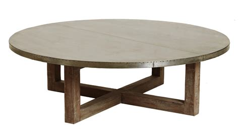 Wooden Coffee Tables Round Pedestal