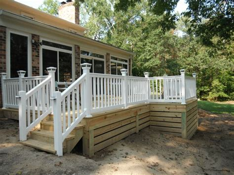 25 best ideas about deck skirting on front porch deck deck and mobile home skirting