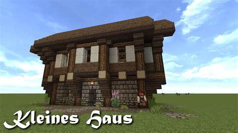 Minecraft Tutorial  Kleines Haus Bauen #1 Youtube