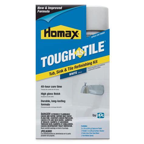 homax 32 oz white tough as tile one part aerosol kit 3153
