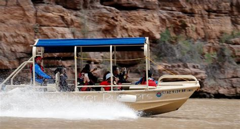 Boat Ride Grand Canyon South Rim by Platinum West Rim Tour With Helicopter And Boat Ride