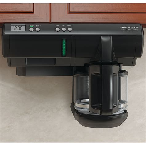 Black & Decker   SDC740B   Spacemaker? Under Cabinet 12  Cup Coffee Maker   Sears Outlet