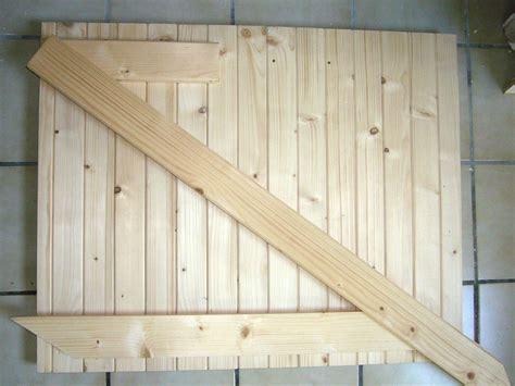 fabriquer un volet pliant bois