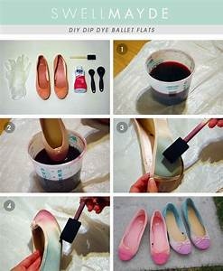 Dip Dye Selber Machen : diy dip dye ombre flats cleverness pinterest selfmade selbstgemachtes und selber machen ~ Markanthonyermac.com Haus und Dekorationen