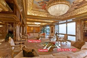 Donald Trump's $100m New York City penthouse in pictures   Daily Mail Online