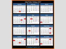 India Public Holidays 2017 – Holidays Tracker
