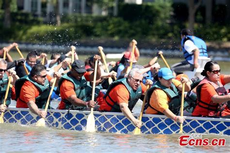 Houston Dragon Boat Festival by 1 000 Participate In Gulf Coast Dragon Boat Festival