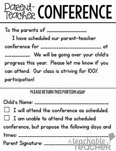 Parent-Teacher Conference Tips and Freebies Linky Party ...