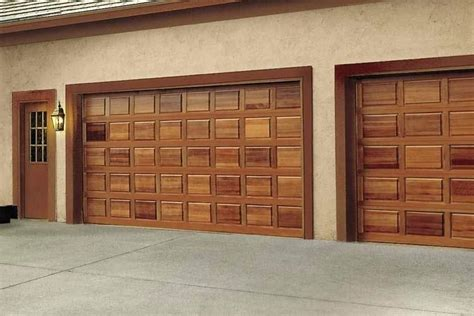 Decorating Wood Garage Doors Prices  Garage Inspiration