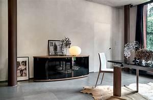 Sideboard Für Esszimmer : sideboard aus holz mit gebogenen glast ren f r das esszimmer oder wohnzimmer geeignet idfdesign ~ Markanthonyermac.com Haus und Dekorationen