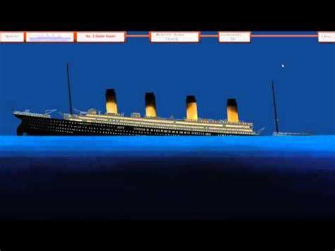 rms titanic sinking simulator