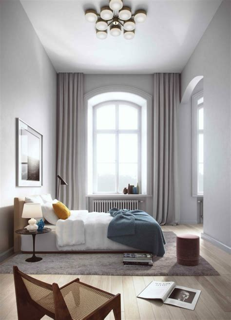 unique ways to decorating bedrooms with high ceilings