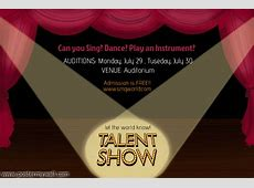 PosterMyWall Talent Show Flyer Template