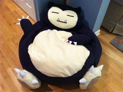 snorlax size bean bag chair