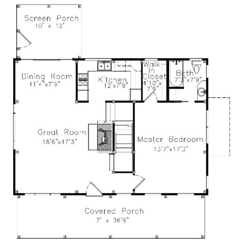 small barn floor plans
