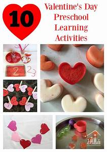 10 Valentines Day Learning Activities for Preschoolers ...