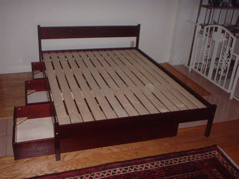 Furniture. Wood Queen Size Platform Bed Frame With Storage Drawers And Sleigh Style Headboard Whirlpool Refrigerator Parts Vegetable Drawer Pet Beds Made From Drawers Jewellery Box With Nz Drawerlayout Open Android Tallboy Chest Of Perth Pine Gumtree Norwich Units How To Make Desk Cardboard