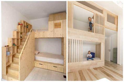 un lit cabane pour les enfants qui ont la chance d avoir des parents cool