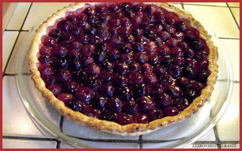 recette tarte aux cerises recette tarte aux cerises dessert avec photo