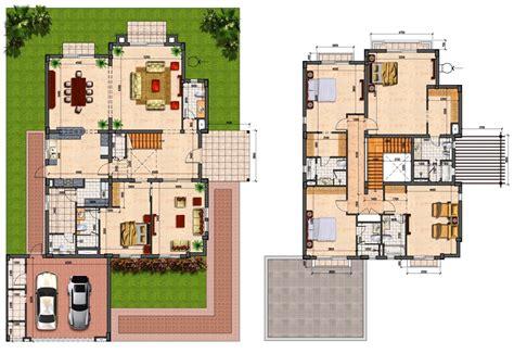 prime villas floor plans 4 semi detached 5 bedrooms villas country uae
