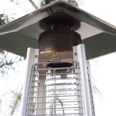 42 000btu outdoor pyramid propane glass