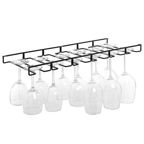 stemware wine glasses hanger organizer holder rack wire