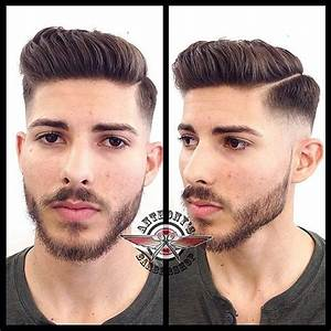 Nice combover with part from Anthony's Barbershop | Men's ...