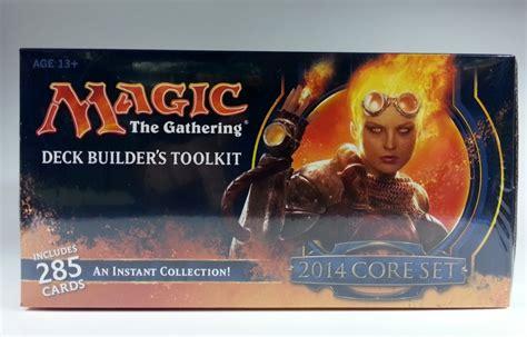deck builder s toolkit 2014 englisch mtg magic deckbau box
