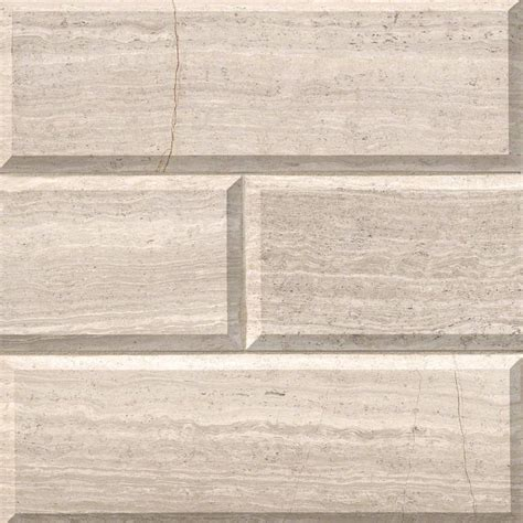 subway tile white oak marble subway tile 4x12 honed beveled