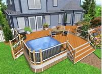 design a deck Hot Tub Deck Design Ideas