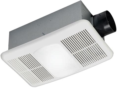 Bathroom Fan Light Heater Quiet Cfm Exhaust Ventilation